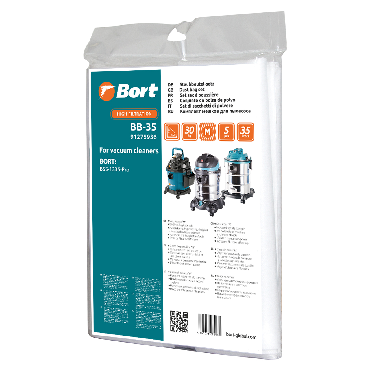 Dust bag set BORT BB-35